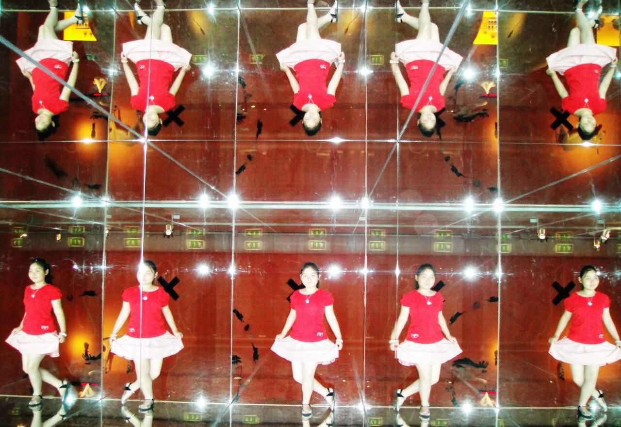 """厦门大同小学张若琦 瑞士伯尔尼博物馆的""""魔法镜"""""""