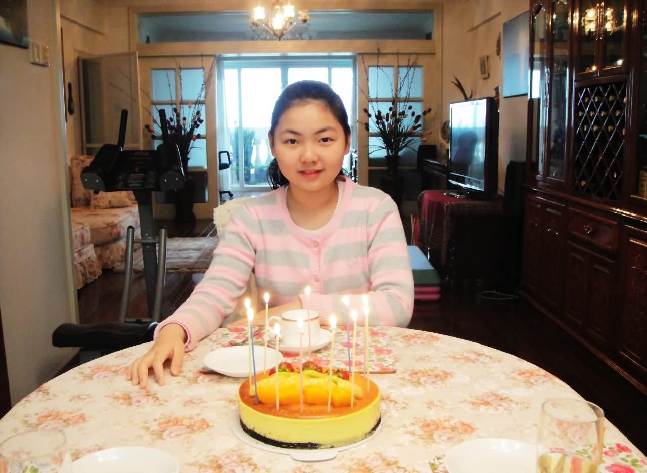 厦门大同小学张若琦 第十一个生日