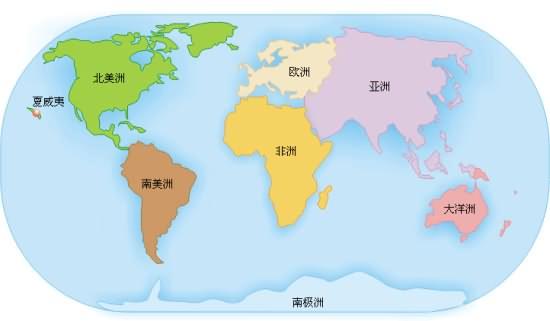 (选自于四年级课文世界地图引出的发现)图片