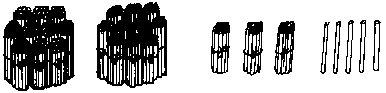 师问:图上画了多少根小棒:(235根)这个数是由几个百,几个十,几个一图片