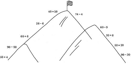 小猴爬山折纸  步骤