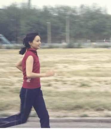 象征性长征跑步——为奥运会加油图片